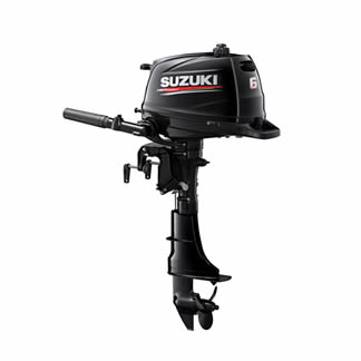 Suzuki DF6A 6hp Short or Long Shaft Outboard Engine