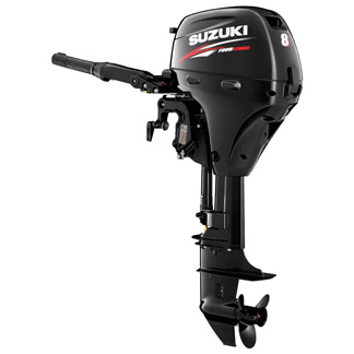 Suzuki DF8A 8hp Short and Long Shaft Outboard Engine