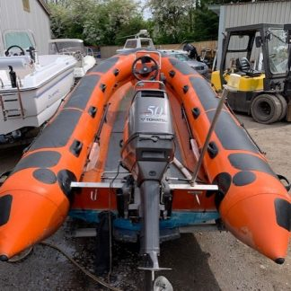 SOLD !! Orkney Dory with Mercury 25hp – Ash Marine
