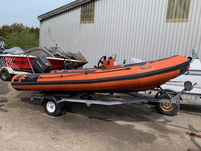 Avon 4 65 Rib with Tohatsu outboard  – Ash Marine